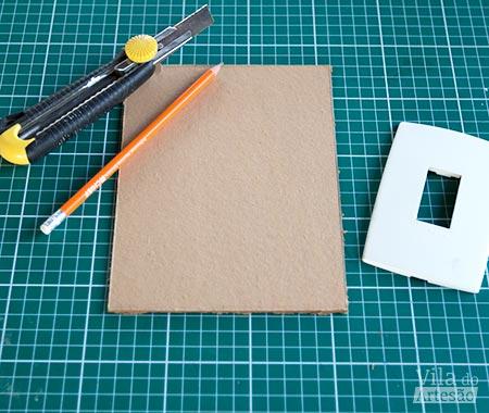 Prepare papelão