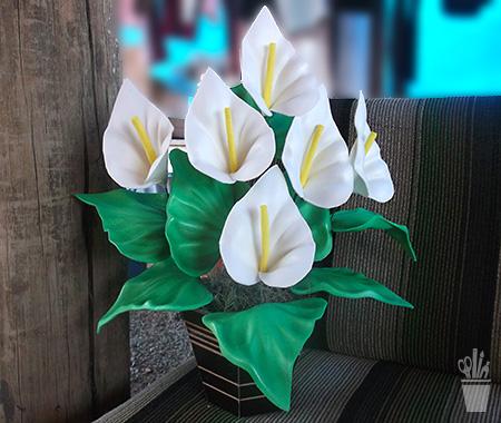 Flores para durar, em EVA
