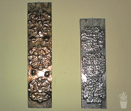 Conjunto de painéis decorativos