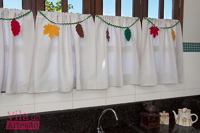 Como fazer um varal para decorar cortina