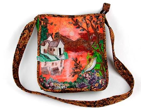 Curso de paisagens em patchwork e quilt