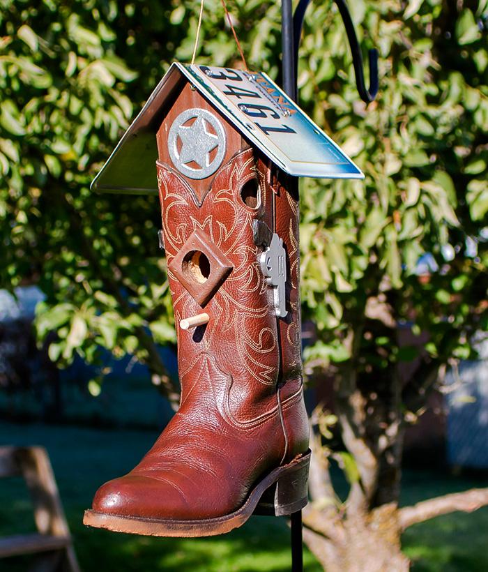 3 ideias para casas de passarinhos novas