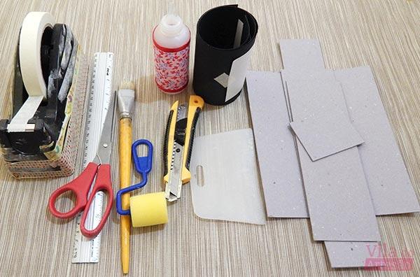 Material para caixa em cartonagem