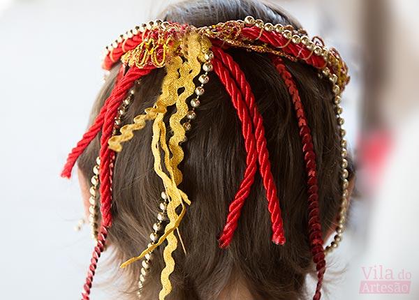 Headband atrás