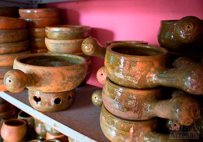 Panelas de barro esmaltadas de Tracunhaém