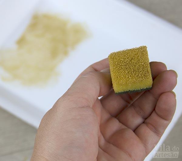 Prepare uma esponja