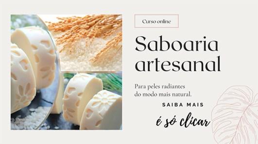 Curso online de Saboaria artesanal