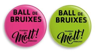 Chapas de acceso al Ball de Bruixes, para saber a qué pase vas