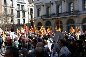 Vaga dia 29 manifestació a Igualada