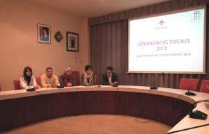 Ordenances 2013 Roda premsa presentació
