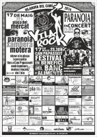 Vila Rock 2014 cartell