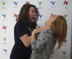 Ruben Caldito i Rosalba Sanchez Artístic terror