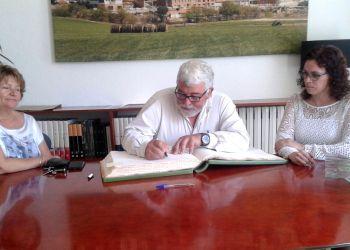 Diputat Mati Pujol visita Vilanova maig 2016
