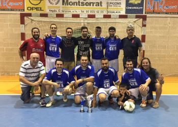 Equip guanyador Copa 16 Asador Mesón el Abuelo