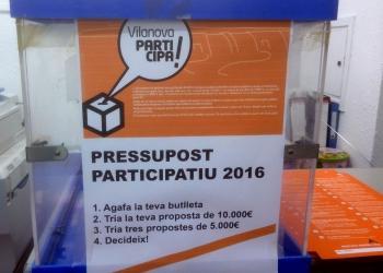 Vilanova Participa 2016 urna web