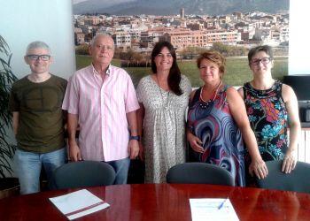 Signatura conveni amb Creu Roja Anoia juliol 2016 web