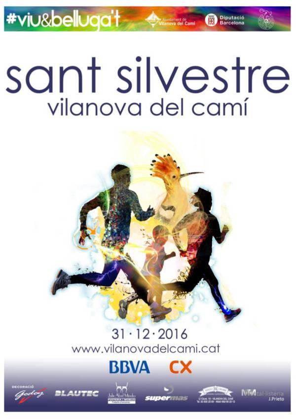 Cursa Sant Silvestre 2016 Poster