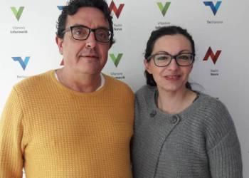 Gloria Vila i Pep Pelfort jornada solidaria refugiats web