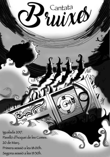 Illustracio cantata Laura Juan Lopez