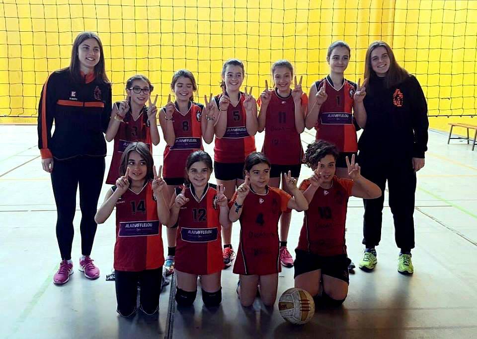 Voleibol Base CV Igualada mar17