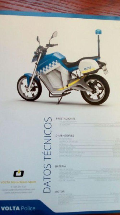 Moto electrica especificacions