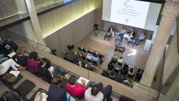 Diba congres esport local Nuria Fabregas