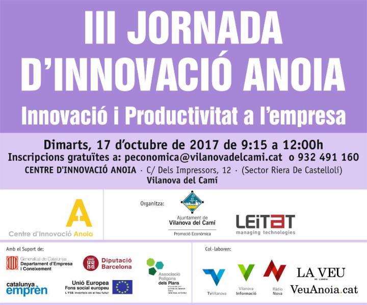 Jornada Innovacio Anoia 2017 Fijo