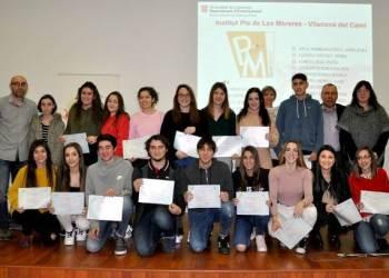 Institut Pla de les Moreres diplomes DELF feb18-v2