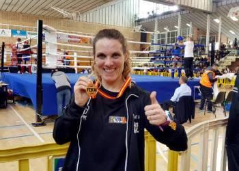 Sonia Rodriguez campeona Muaythai España mar 18-v22