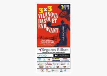 3X3 Basquet Endavant jun18 cartell-fons-v22