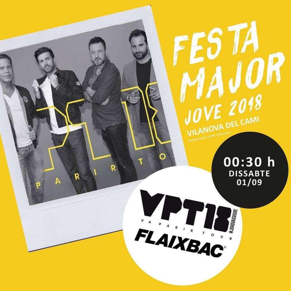 Festa Major 2018 Va parir Tour