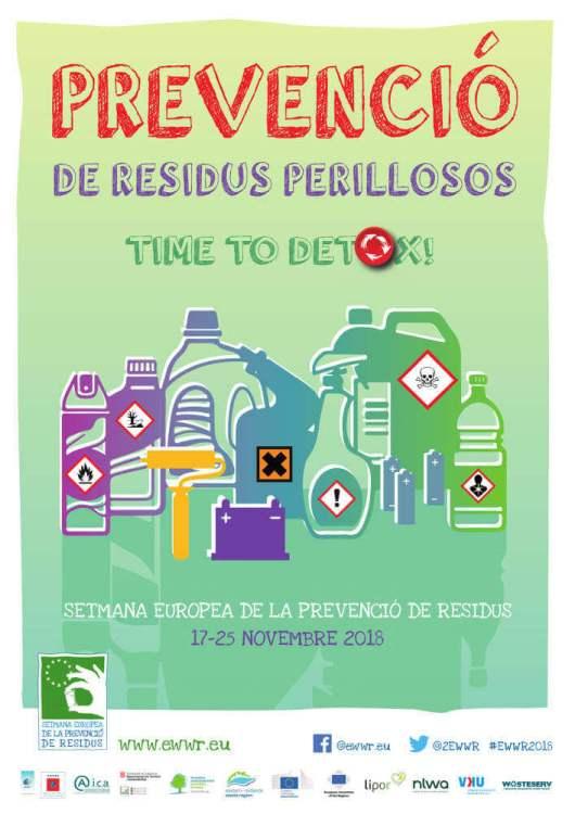 Prevencio residus perillosos 2018 cartell