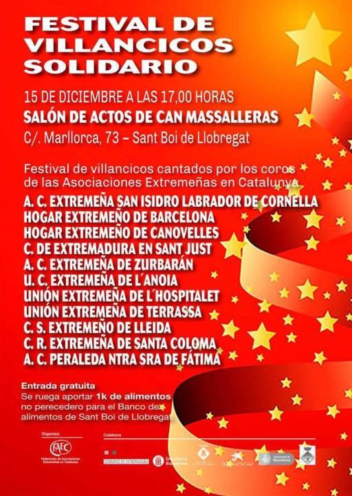 UEC Anoia cartel festival Sant Boi-cartell