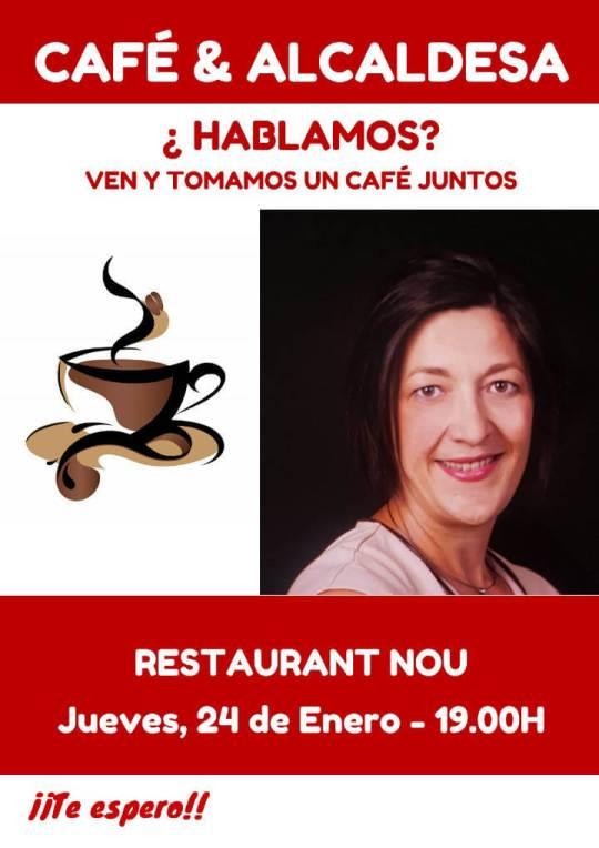 Cafe i alcaldessa cartell 24 gener 19