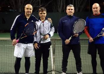 Tennis campionat de dobles desembre 2018