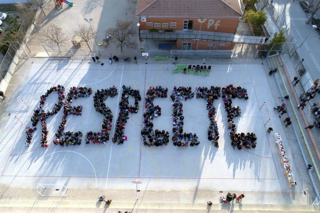 Escola Pompeu Fabra jornada respectem feb19