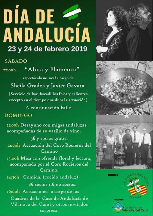 cartell Dia de Andalucia febrer 2019