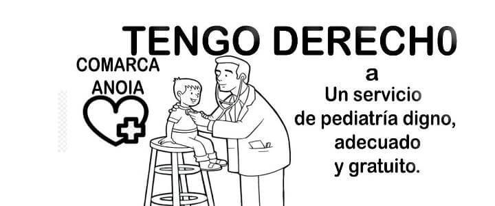 Cartell servicio digno pediatria