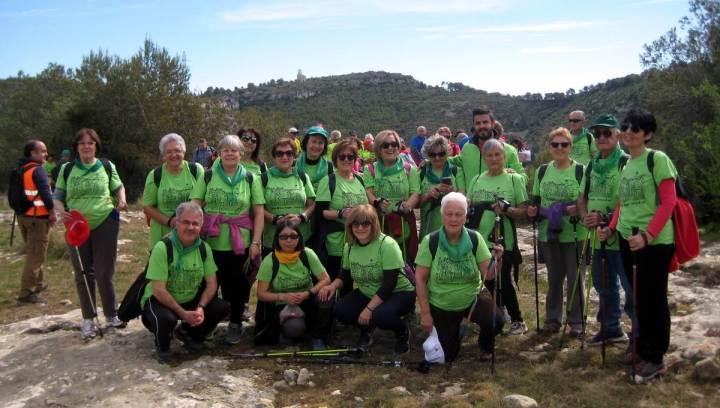 A cent cap els cent Olèrdola - Foto de grup