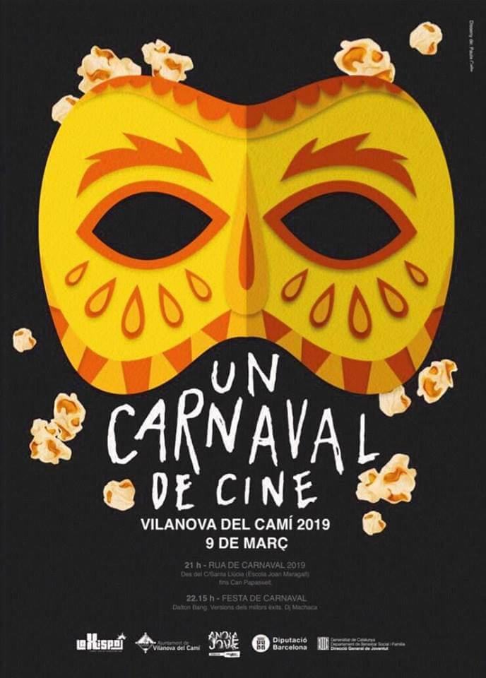 Carnaval 2019 Vilanova del Cami cartell