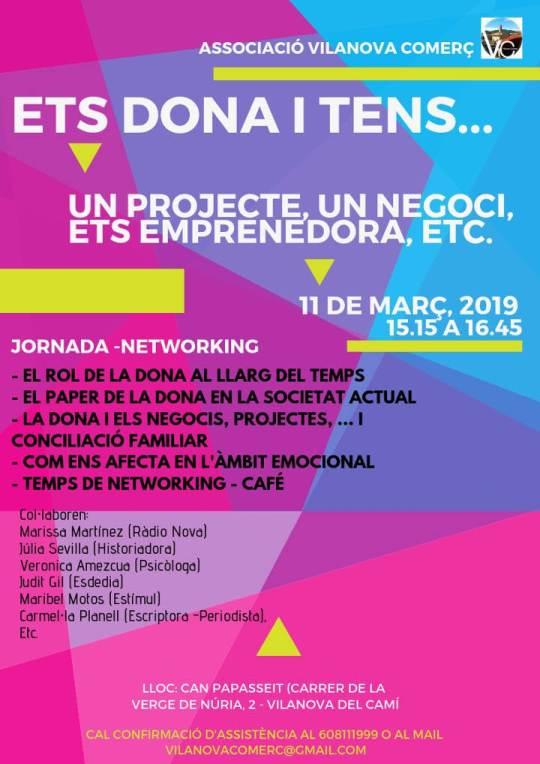 Dia de la Dona Vilanova Comerc