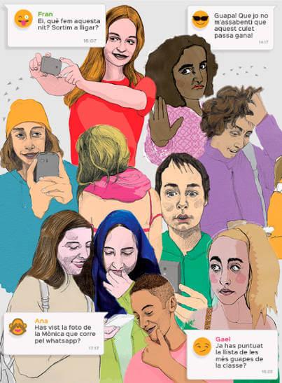 Cartell Tabú activitat institut violencia sexual