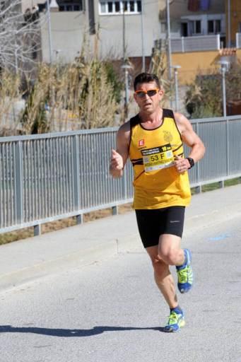 Antonio Martinez guanyador de la Cursa popular 2019 Foto de Josep Rovira
