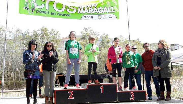 Podium del Cros Joan Maragall 2019