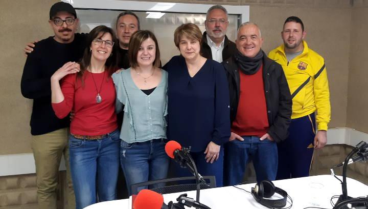 Equip del programa Positiva-Ment radio programa 3 abril 2019