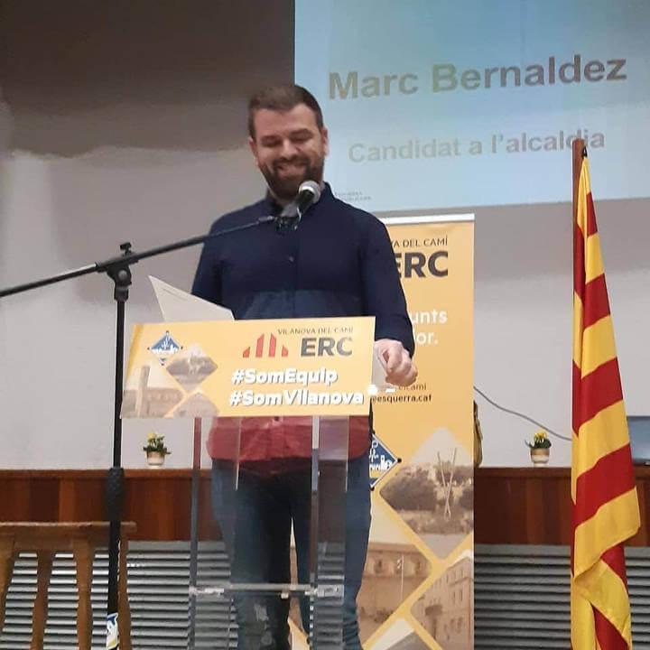 Presentació candidat d'ERC Vilanova del Camí Eleccions Municipals 2019