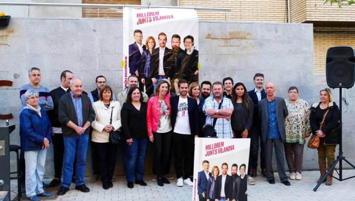 Junts per Vilanova foto de grup