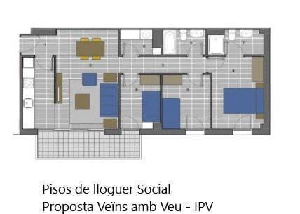 Maqueta pisos VV