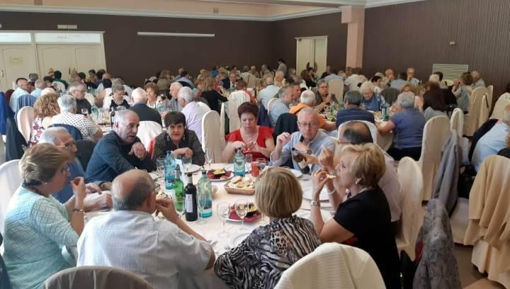 Setmana de la Gent Gran 2019 Dinar homenatge