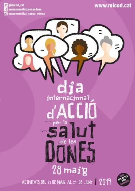 Cartell programa de la Salut de les Dones 2019